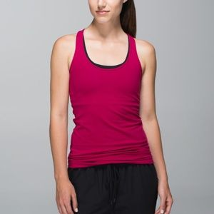 Lululemon Cool Racerback in Bumble Berry